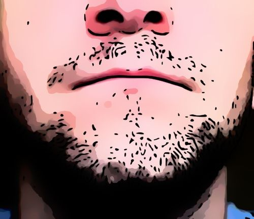 1 week beard growth