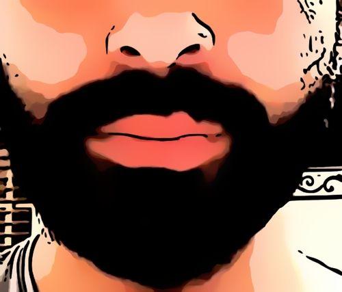 4 weeks beard growth