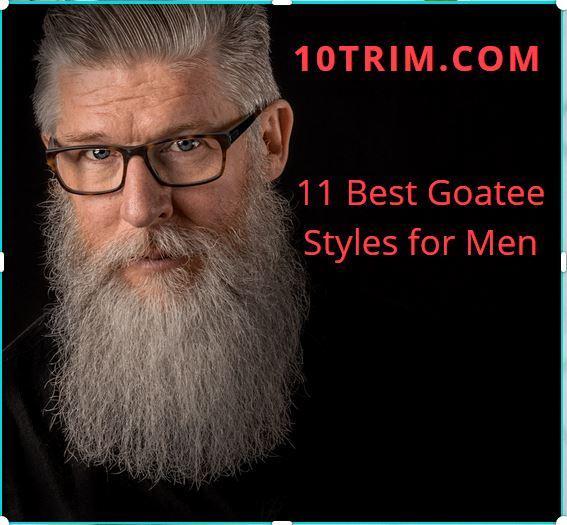 Best Goatee Styles for Men