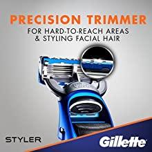 Gillette Fusion ProGlide Men's Razor Styler Precision Trimmer
